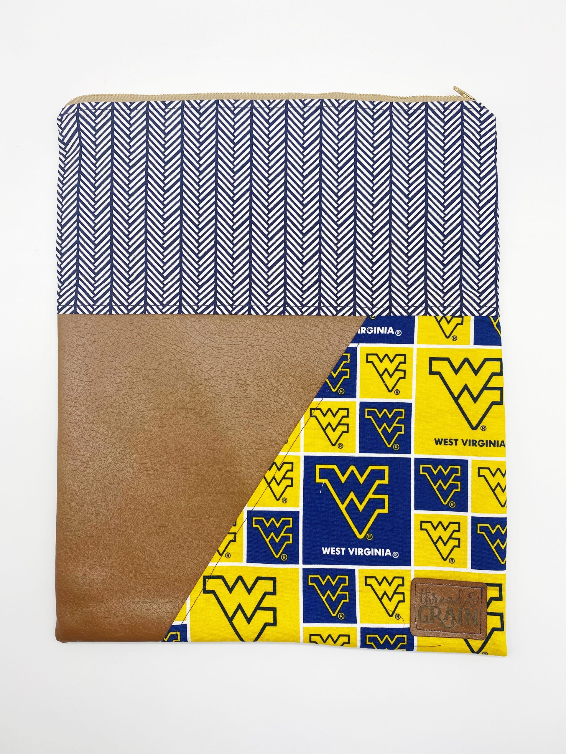 Evelyn Fold-Over Clutch :: West Virginia